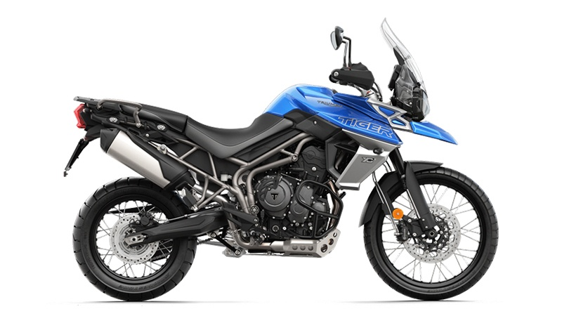 2018 Triumph Tiger 800 XCx in Depew, New York