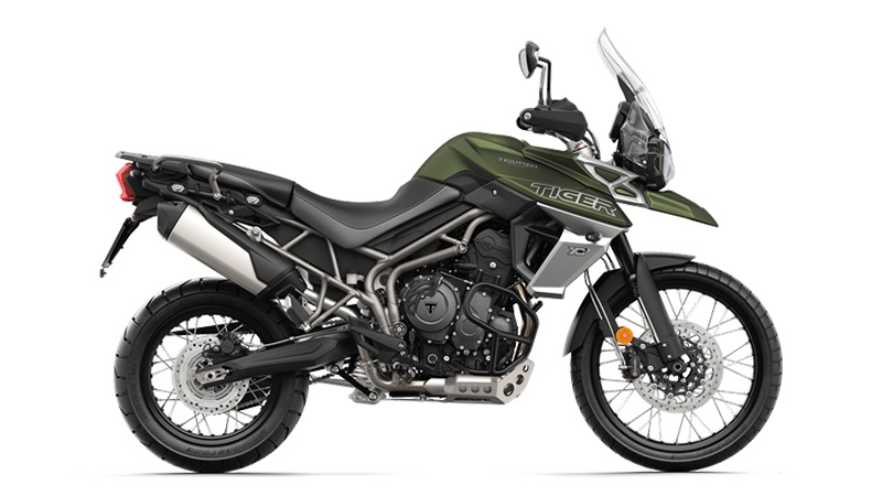 2018 Triumph Tiger 800 XCx in San Jose, California