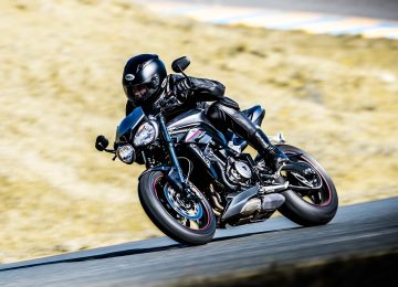 2018 Triumph Street Triple S in Port Clinton, Pennsylvania