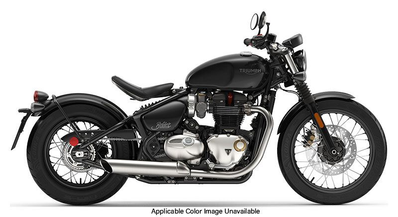 2019 Triumph Bonneville Bobber in Frederick, Maryland - Photo 1