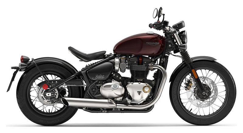 2019 Triumph Bonneville Bobber in Enfield, Connecticut - Photo 1