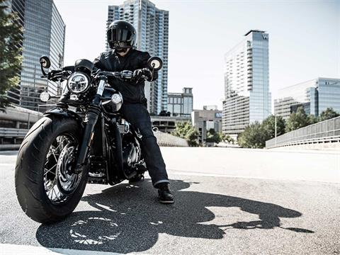 2019 Triumph Bonneville Bobber Black in Katy, Texas - Photo 2