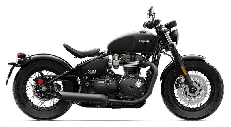 2019 Triumph Bonneville Bobber Black in Indianapolis, Indiana - Photo 1