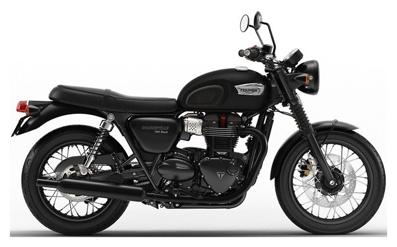 New 2019 Triumph Bonneville T100 Black Motorcycles In Shelby
