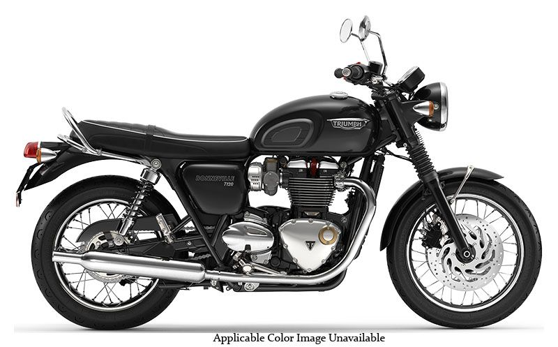 2019 Triumph Bonneville T120 in Belle Plaine, Minnesota