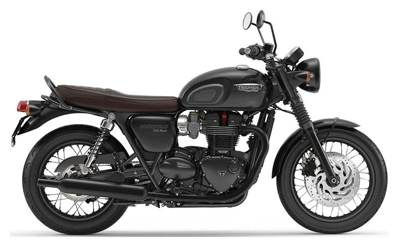 New 2019 Triumph Bonneville T120 Black Motorcycles In Columbus Oh