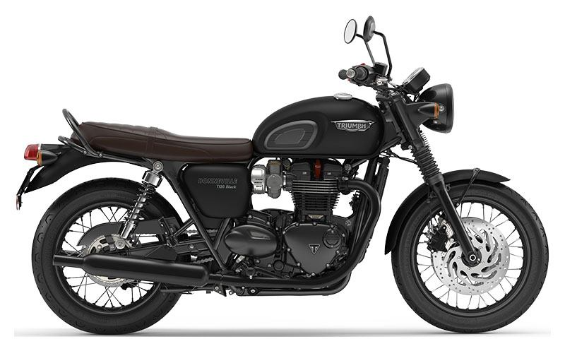 2019 Triumph Bonneville T120 Black in Saint Charles, Illinois - Photo 1