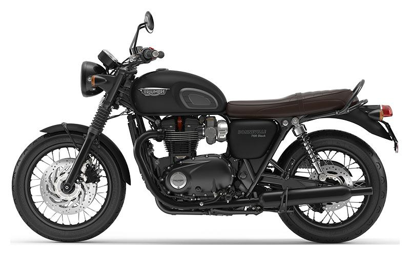 2019 Triumph Bonneville T120 Black in Saint Charles, Illinois - Photo 2