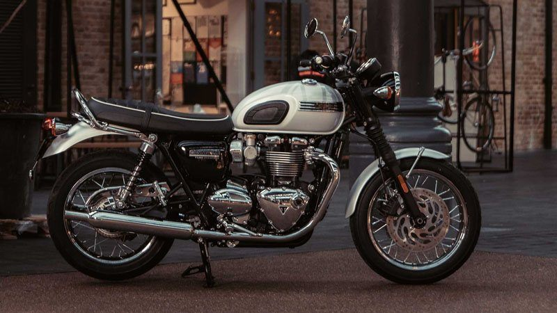 2019 Triumph Bonneville T120 Diamond Edition in Katy, Texas - Photo 1