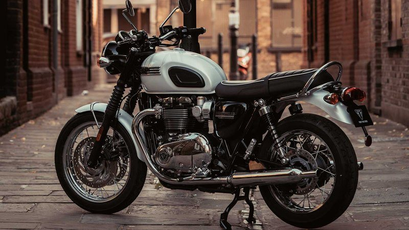 2019 Triumph Bonneville T120 Diamond Edition in Norfolk, Virginia