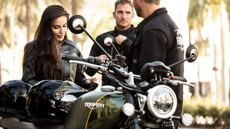 2019 Triumph Scrambler 1200 XC in Goshen, New York