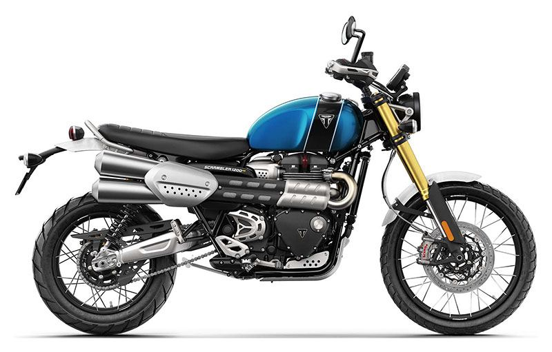 2019 Triumph Scrambler 1200 XE in Dubuque, Iowa