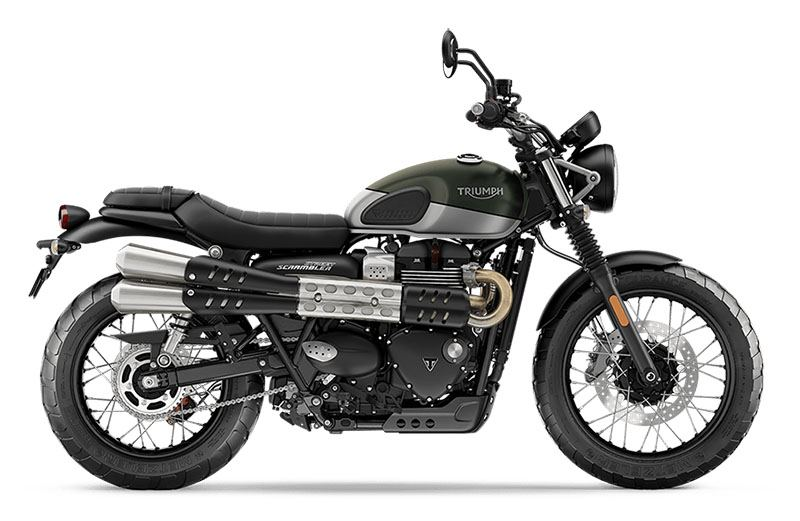 2019 Triumph Street Scrambler in Greenville, South Carolina