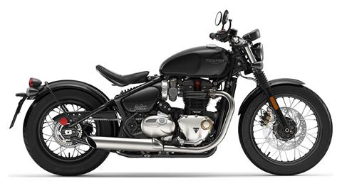2020 Triumph Bonneville Bobber in Iowa City, Iowa