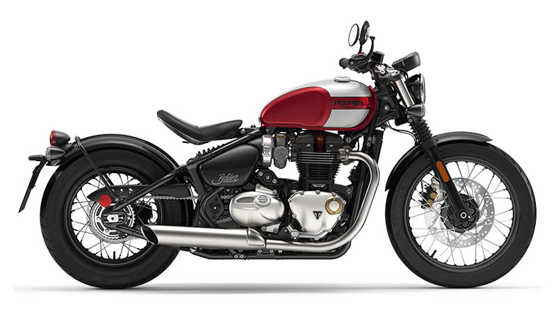 2020 Triumph Bonneville Bobber in Dubuque, Iowa - Photo 1