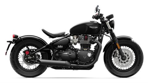 2020 Triumph Bonneville Bobber Black in Iowa City, Iowa