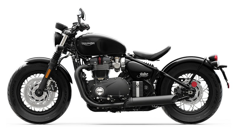 2020 Triumph Bonneville Bobber Black in Greensboro, North Carolina - Photo 2