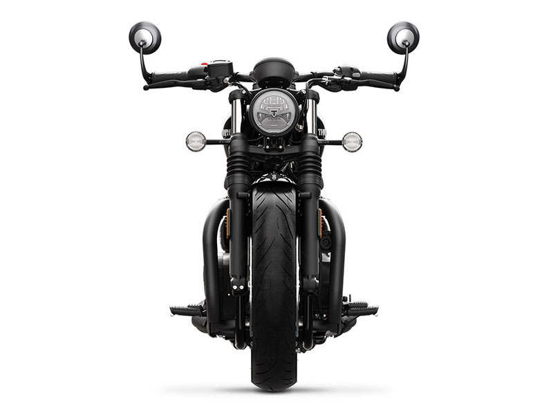 2020 Triumph Bonneville Bobber Black in Port Clinton, Pennsylvania - Photo 5