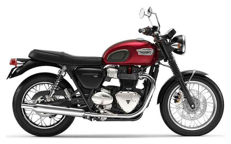 2020 Triumph Bonneville T100 in San Jose, California - Photo 1