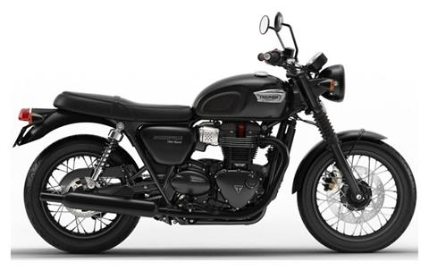 2020 Triumph Bonneville T100 Black in Iowa City, Iowa