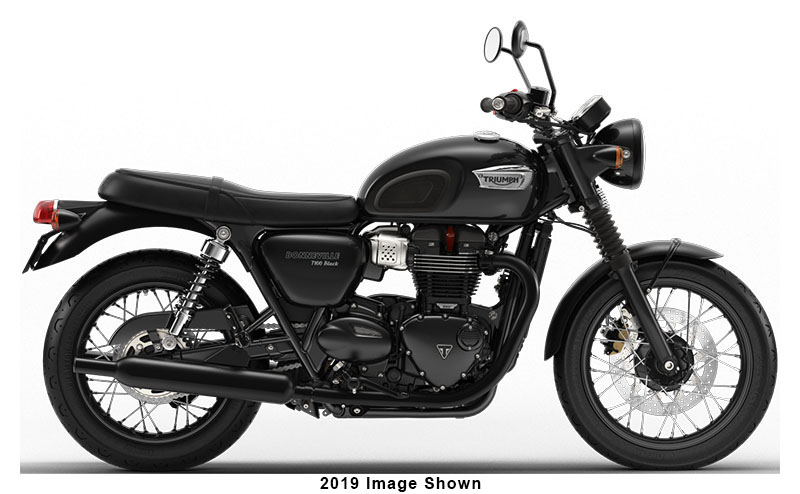 2020 Triumph Bonneville T100 Black in Katy, Texas - Photo 1