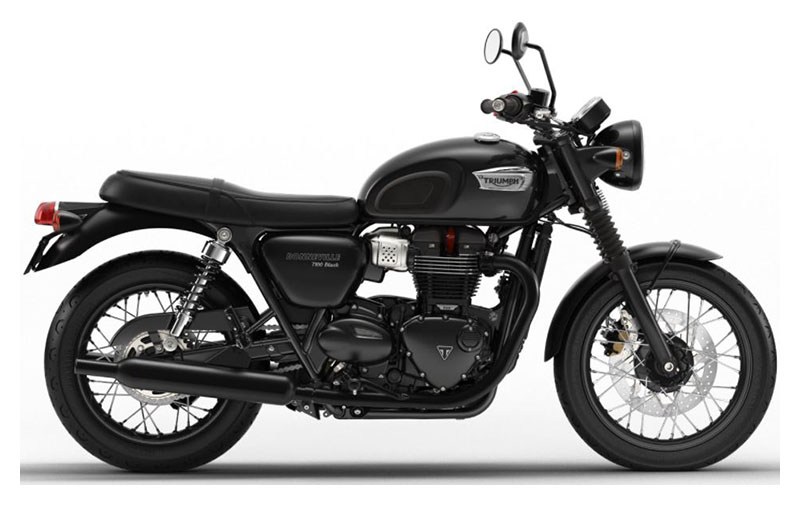 2020 Triumph Bonneville T100 Black in Philadelphia, Pennsylvania - Photo 1