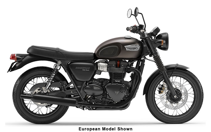 2020 Triumph Bonneville T100 Black in Enfield, Connecticut - Photo 1