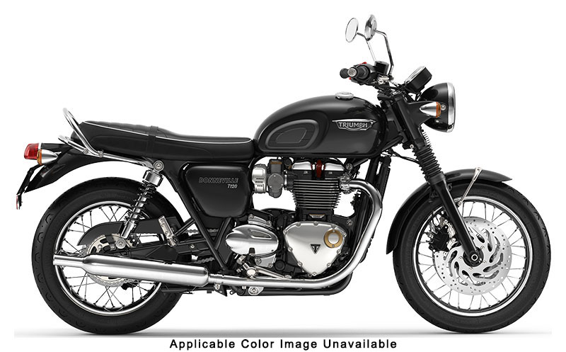 2020 Triumph Bonneville T120 in Greensboro, North Carolina - Photo 1