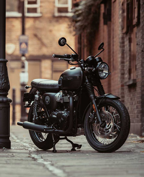 New 2020 Triumph Bonneville T120 Ace Matt Storm Grey Matte
