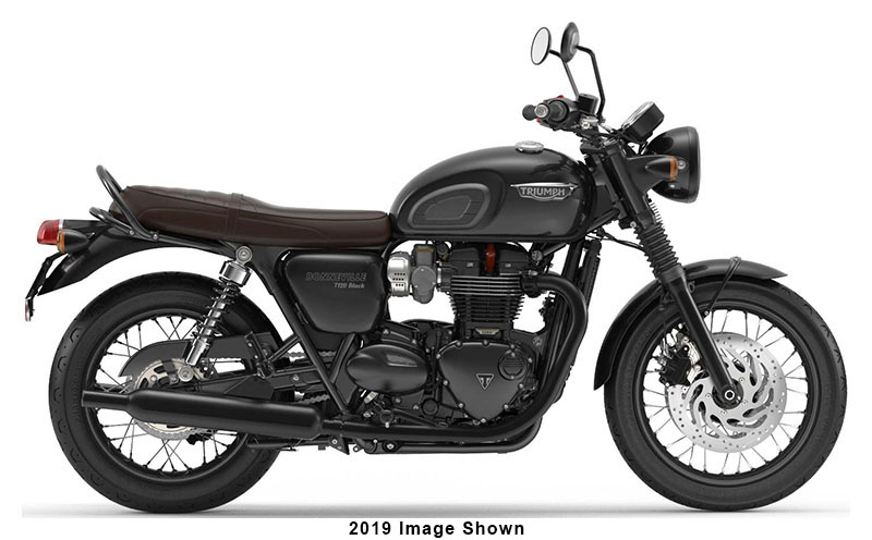 2020 Triumph Bonneville T120 Black in Enfield, Connecticut - Photo 1