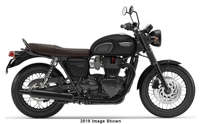 2020 Triumph Bonneville T120 Black in Dubuque, Iowa - Photo 1