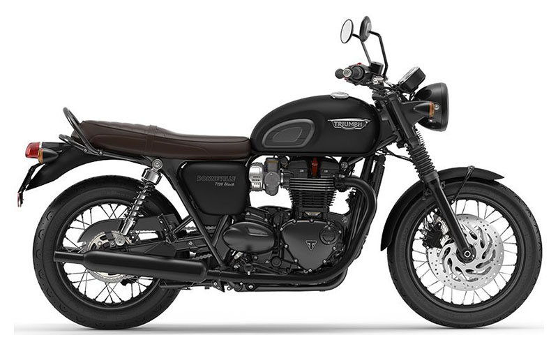 2020 Triumph Bonneville T120 Black in Greenville, South Carolina - Photo 1