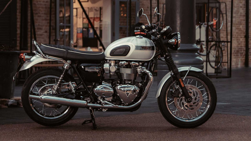 New 2020 Triumph Bonneville T120 Diamond Edition Snowdonia White