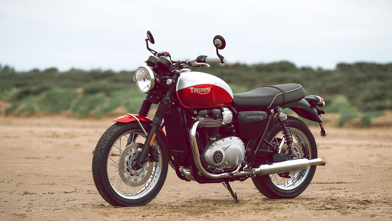 2020 Triumph Bud Ekins T100 in San Jose, California - Photo 2