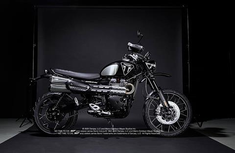 2020 Triumph Scrambler 1200 Bond Edition in Philadelphia, Pennsylvania