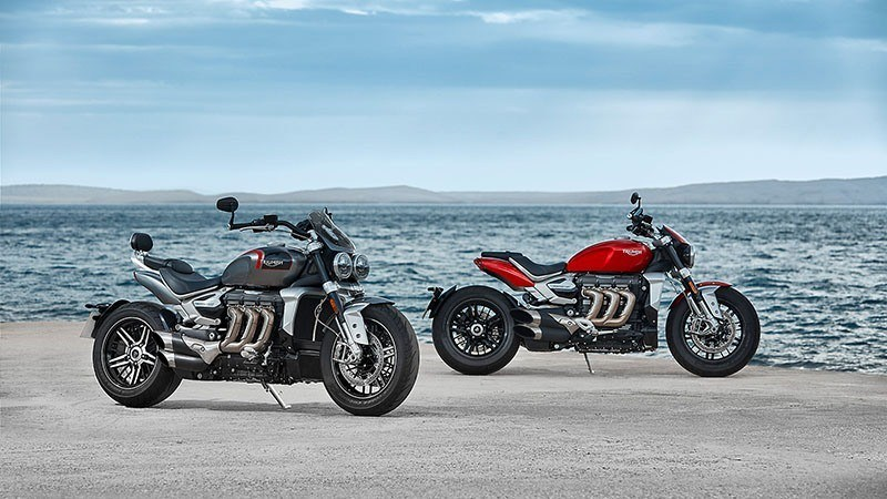 2020 Triumph Rocket 3 GT in Simi Valley, California - Photo 4