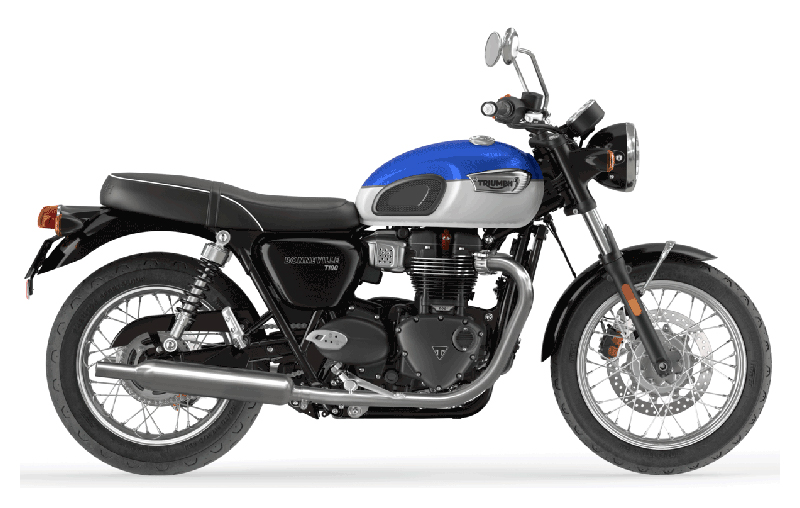 2022 Triumph Bonneville T100 in Greensboro, North Carolina