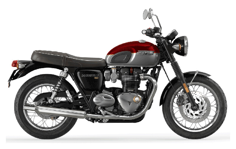2022 Triumph Bonneville T120 in Dubuque, Iowa
