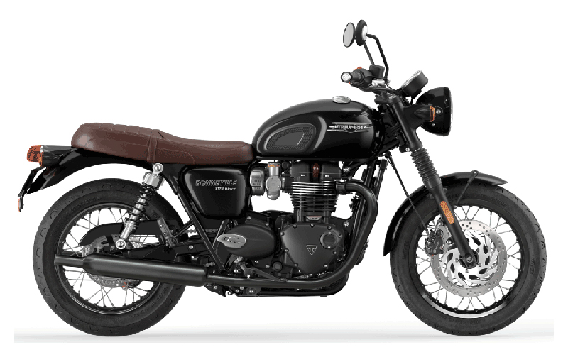 2022 Triumph Bonneville T120 Black in Iowa City, Iowa