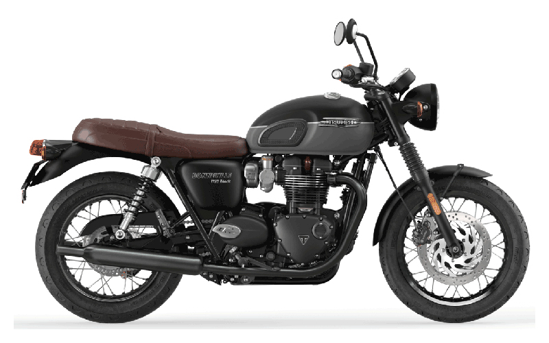 2022 Triumph Bonneville T120 Black in Belle Plaine, Minnesota