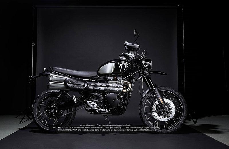 2021 Triumph Scrambler 1200 Bond Edition in Pensacola, Florida - Photo 1