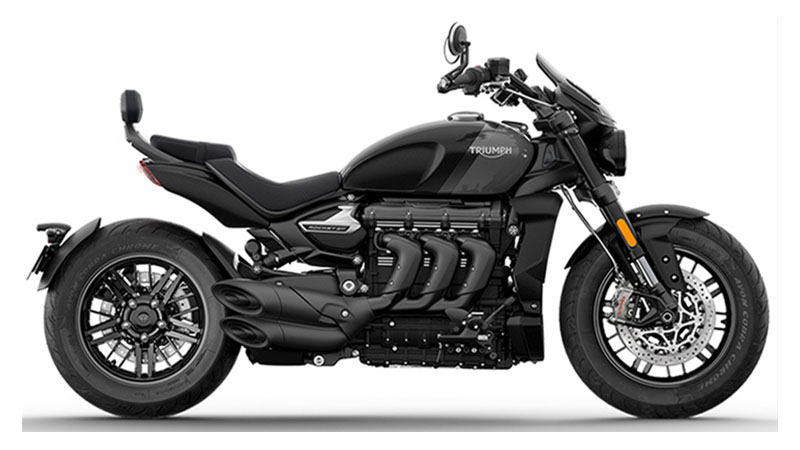 2022 Triumph Rocket 3 GT Triple Black in Mooresville, North Carolina - Photo 1