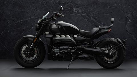 2022 Triumph Rocket 3 GT Triple Black in Mooresville, North Carolina - Photo 3