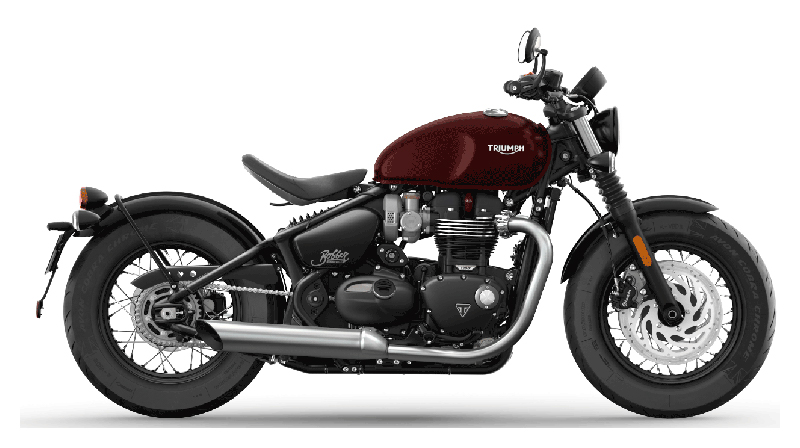 2022 Triumph Bonneville Bobber in Iowa City, Iowa