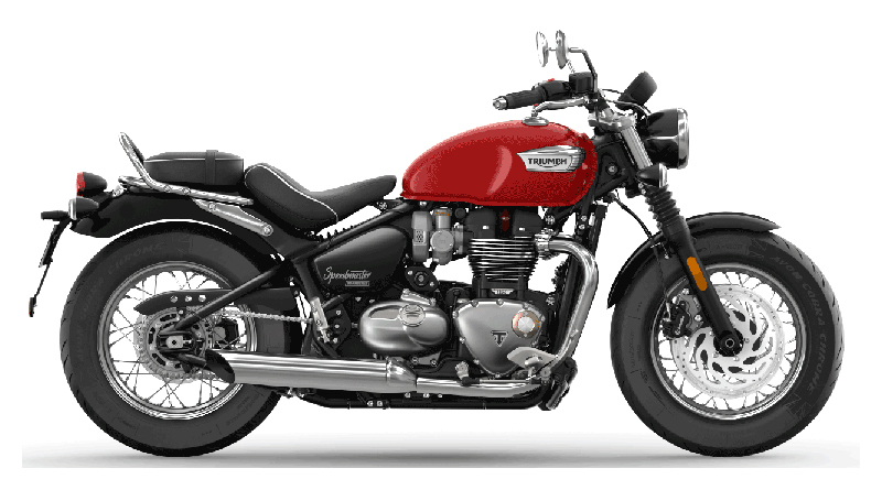 2022 Triumph Bonneville Speedmaster in Iowa City, Iowa