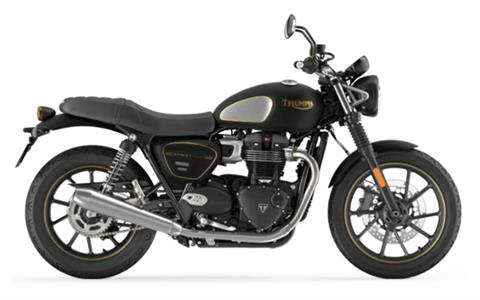 2022 Triumph Street Twin Gold Line in Rapid City, South Dakota