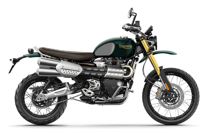 2022 Triumph Scrambler 1200 Steve Mcqueen Edition in Greensboro, North Carolina - Photo 1
