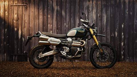 2022 Triumph Scrambler 1200 Steve Mcqueen Edition in Greensboro, North Carolina - Photo 3