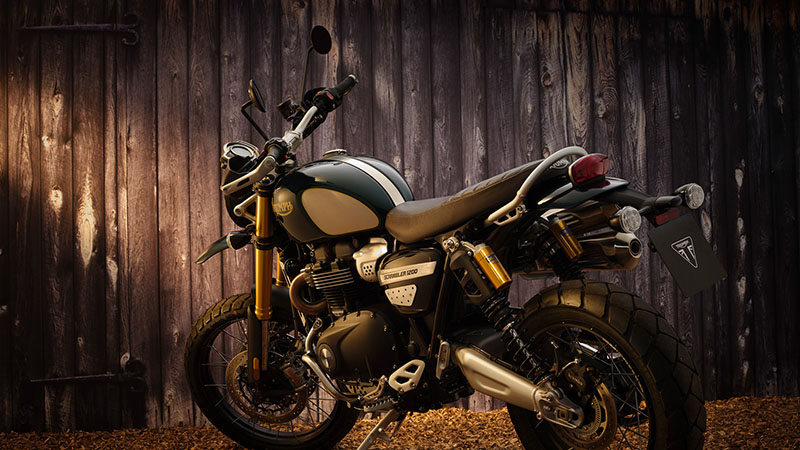 2022 Triumph Scrambler 1200 Steve Mcqueen Edition in Greenville, South Carolina - Photo 6