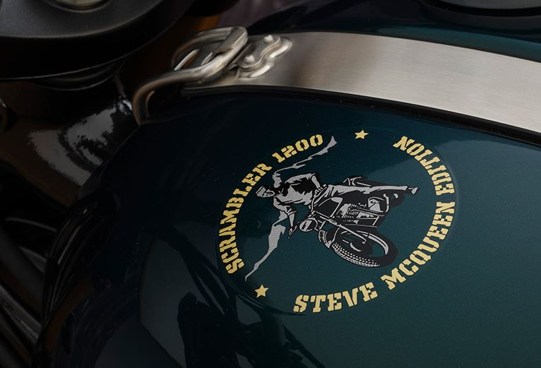 2022 Triumph Scrambler 1200 Steve Mcqueen Edition in Greensboro, North Carolina - Photo 2
